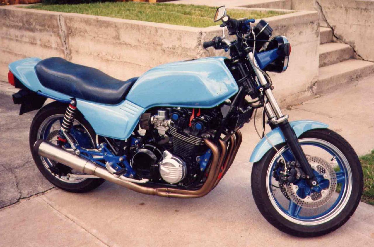 1980 Honda Cb750f Stainless Brake Line : Honda cb f owner photos
